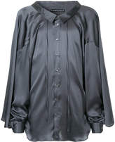 Y/Project Y / Project loose fit satin shirt