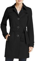 Herno Button Front Trench Coat