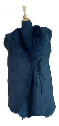 Liviana Conti Black Shearling Coats