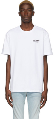 Double Rainbouu White Palm Tree T-Shirt
