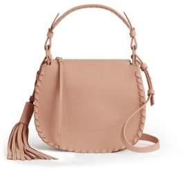AllSaints Mori Lea Leather Crossbody Bag