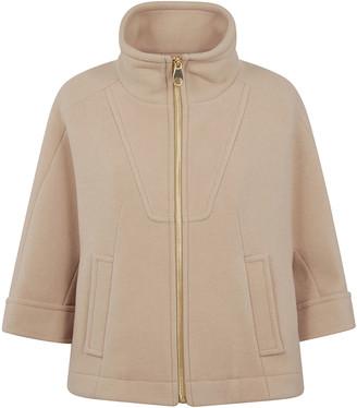 Chloé High Neck Zip Jacket