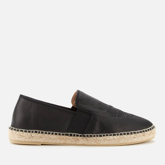 Kenzo Women's Tiger Head Elastic Espadrilles - Black