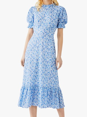 Ghost Solene Floral Midi Dress