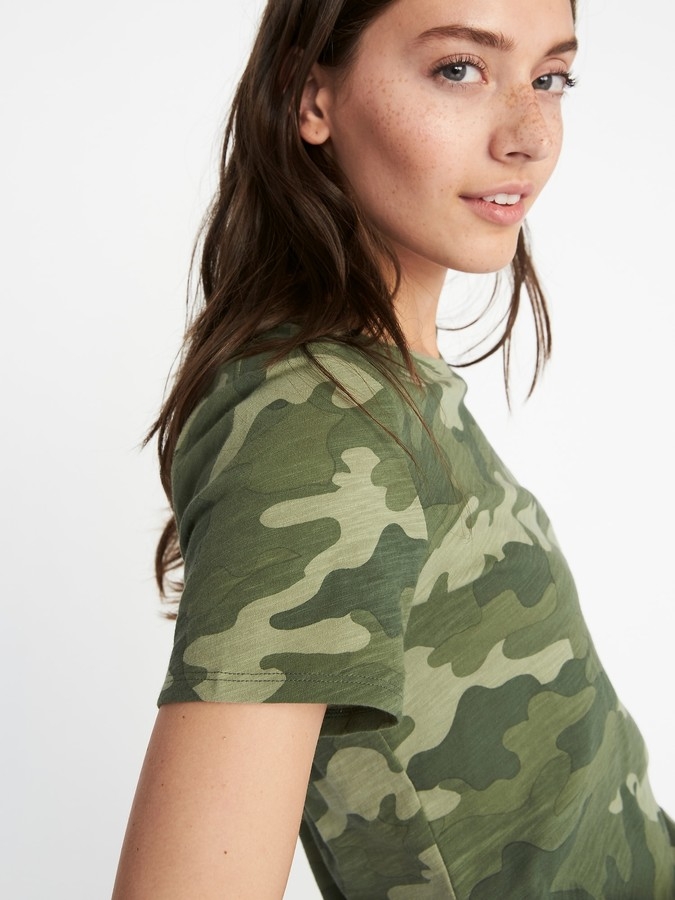 Thumbnail for your product : Old Navy EveryWear Slub-Knit Tee for Women