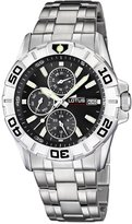 Lotus Men's Quartz Watch with Dial Analogue Display and Silver Stainless Steel Bracelet 15812/4