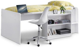 Julian Bowen Neptune Midsleeper Bed with Desk