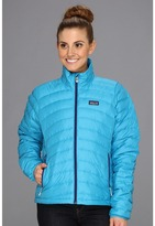 Patagonia Down Sweater (Curacao/Blue Butterfly) - Apparel