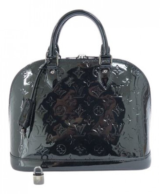 Louis Vuitton Alma Black Patent leather Handbags