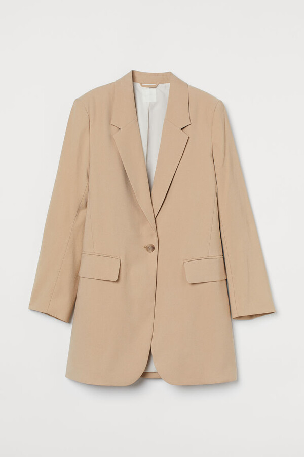Thumbnail for your product : H&M Long Blazer - Beige