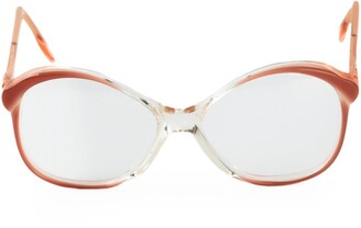 Saint Laurent Pre-Owned round glasses