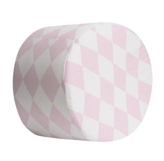 Kidicomfort Designer Stool Rhombuses Small 12'' Soft Pink