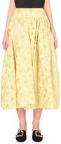 Simone Rocha Lava bead embellishment crepe skirt