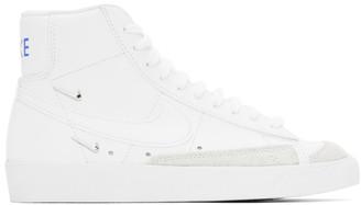 Nike White Blazer Mid 77 SE Sneakers