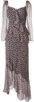 Diane von Furstenberg Jasmyne floral-print silk dress