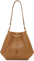 Maison Margiela Tan Leather Bucket Bag