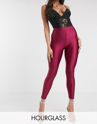 ASOS DESIGN Hourglass disco legging with ruched bum