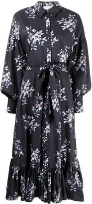Cinq à Sept Freesia floral-print dress