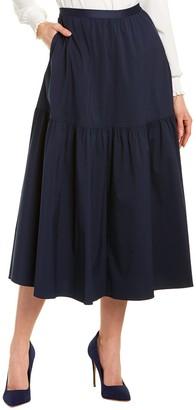 Lafayette 148 New York Safford Midi Skirt