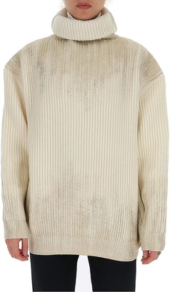 Ann Demeulemeester Embellished Turtleneck Sweater