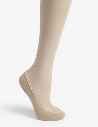 Wolford Cotton blend footsie liner socks 40 denier