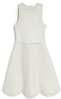 Sandro Ariane Embellished Knit Dress