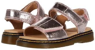Dr. Martens Kid's Collection Romi (Little Kid/Big Kid) (Pink Salt) Girl's Shoes