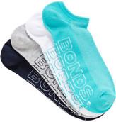 Bonds Mens Logo Lite No Show Sport Socks 4 Pack