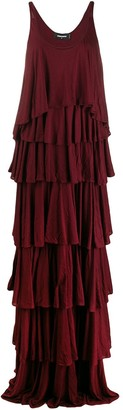 DSQUARED2 Tiered Long Dress