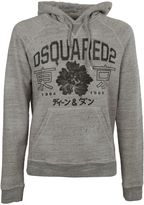 DSQUARED2 College Style Logo Hoodie