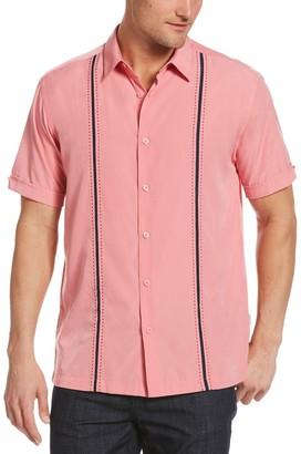 Cubavera Men's Classic-Fit Paneled Button-Down Shirt