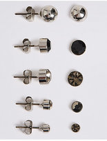 M&S Collection 5 Pack of Stud Earrings Set