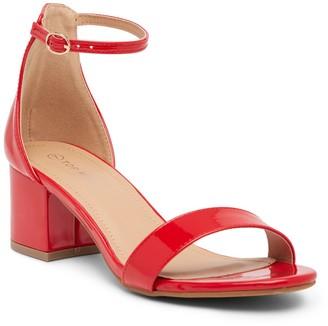 Top Moda Darcie Ankle Strap Sandal