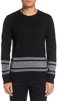 Michael Stars Men's Stripe Wool Blend Sweater