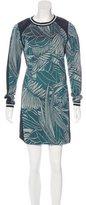 Veronica Beard Knit Jacquard Mini Dress
