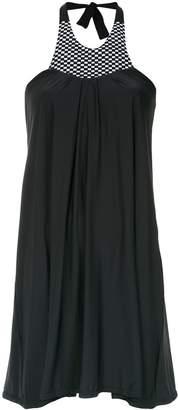 AMIR SLAMA halterneck dress