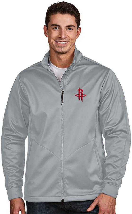 Antigua Men's Houston Rockets Golf Jacket