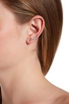 Rebecca Minkoff Double Triangle Ear Climbers