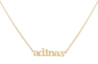 Adina's Jewels Mini Lowercase Nameplate Necklace