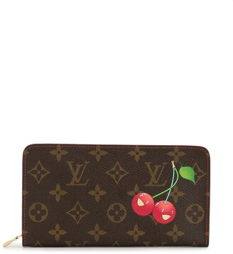 Louis Vuitton x Takashi Murakami pre-owned Cherry zipped wallet