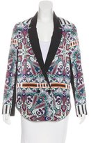 Clover Canyon Abstract Print Tailored Blazer w/ Tags