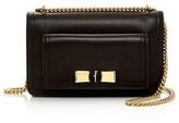 Salvatore Ferragamo Ginevra Pebbled Leather Shoulder Bag