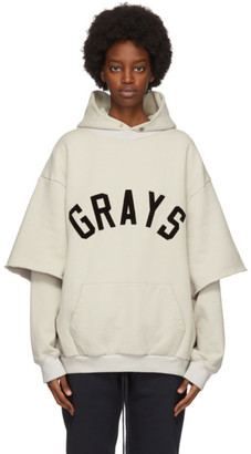 Fear Of God Beige Fleece Graphic Sweatshirt T-Shirt