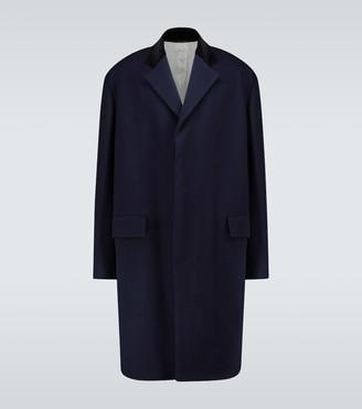 Marni Single-breasted wool-blend coat
