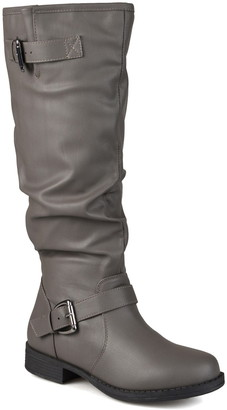 Journee Collection Stormy Riding Boot - Extra Wide Calf