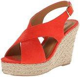 Qupid Women's Cammi-10a Wedge Sandal