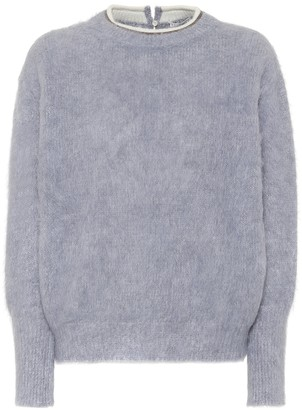 Brunello Cucinelli Alpaca and mohair-blend sweater