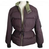 Jean Paul Gaultier Purple Leather Jacket for Women Vintage