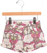 Petit Bateau Girls' Printed Straight-Leg pants