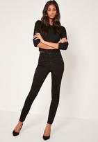 Missguided Black Rebel Supersoft Superstrech Skinny Jeans